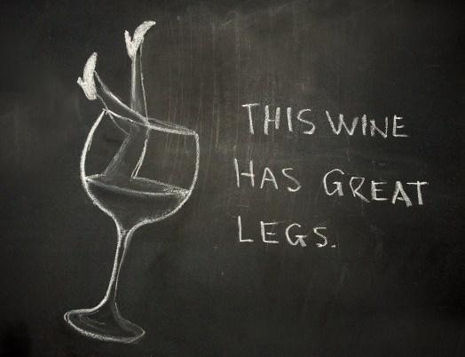 wine-legs